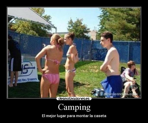Imágenes graciosas camping