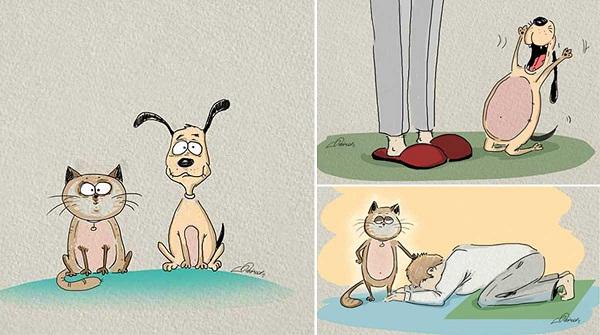 Imágenes graciosas caricaturas