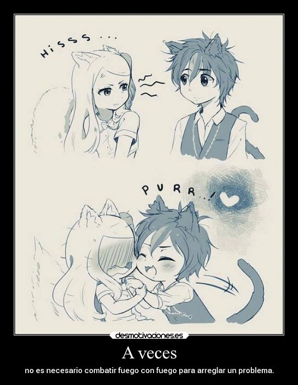 Imágenes graciosas de amor de anime