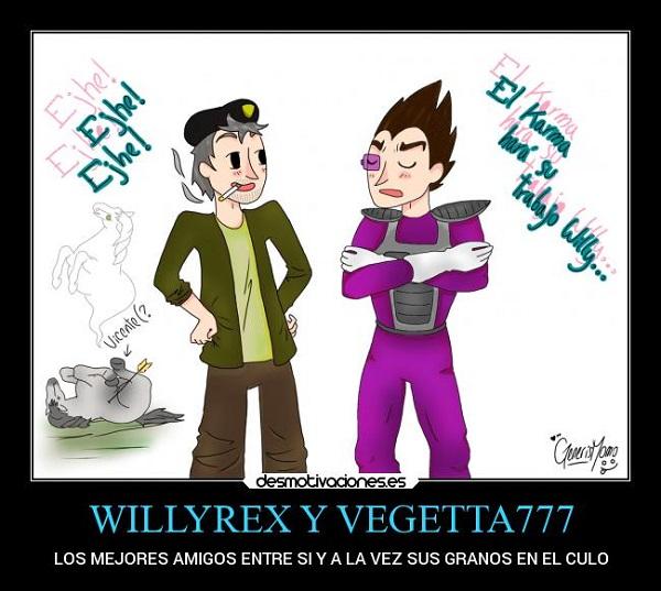 Imágenes graciosas de vegetta777 y willyrex