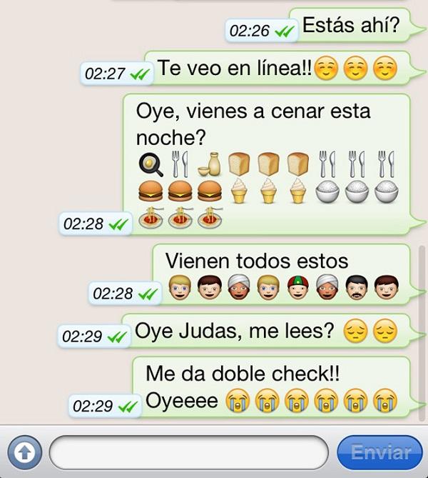 Imágenes graciosas emoticonos whatsapp