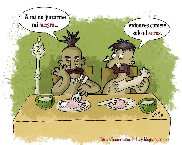 Imágenes graciosas en caricatura